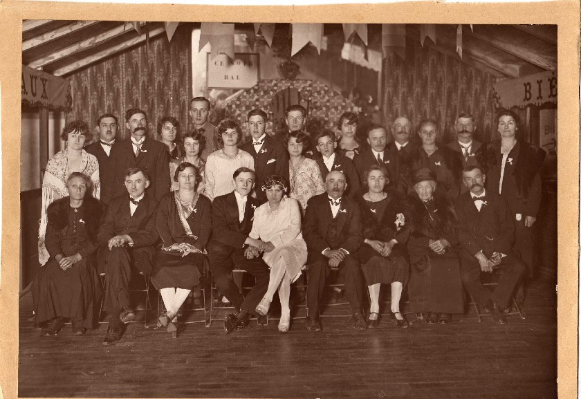 Mariage 1928 Gibassier